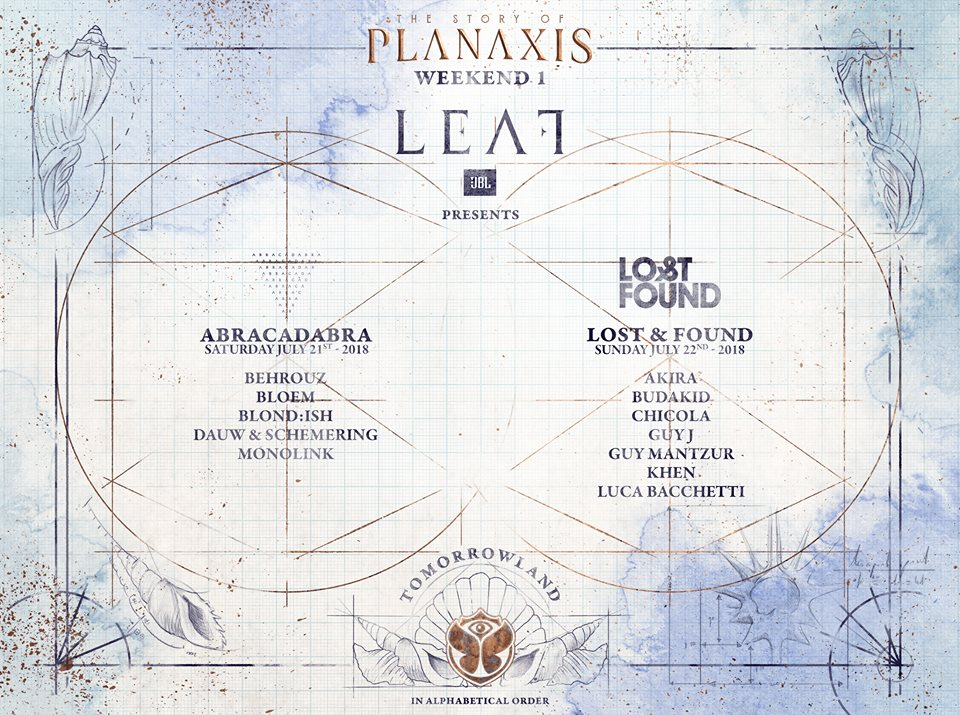 Leaf 1 Tomorrowland