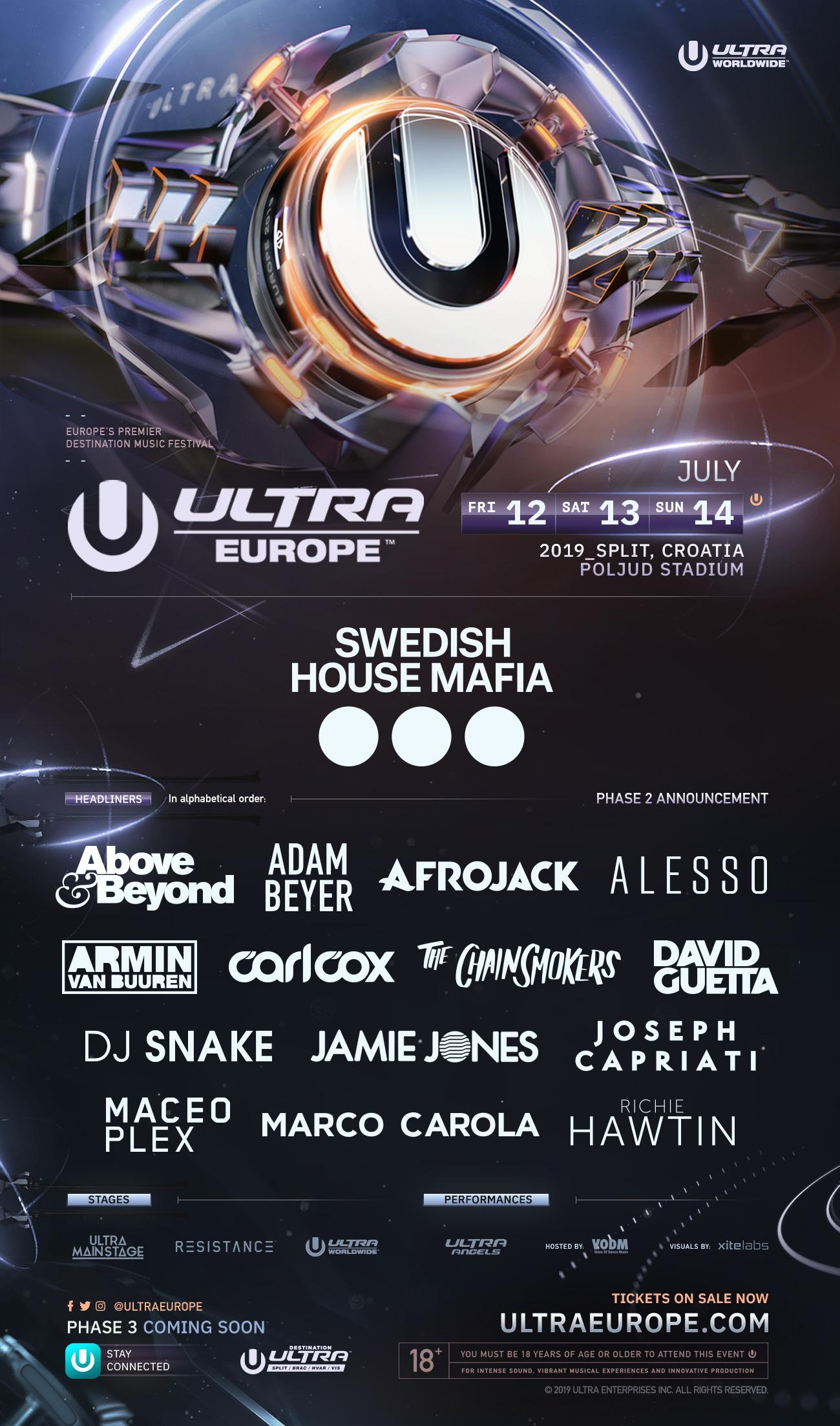 Ultra Europe 2019 fase 2