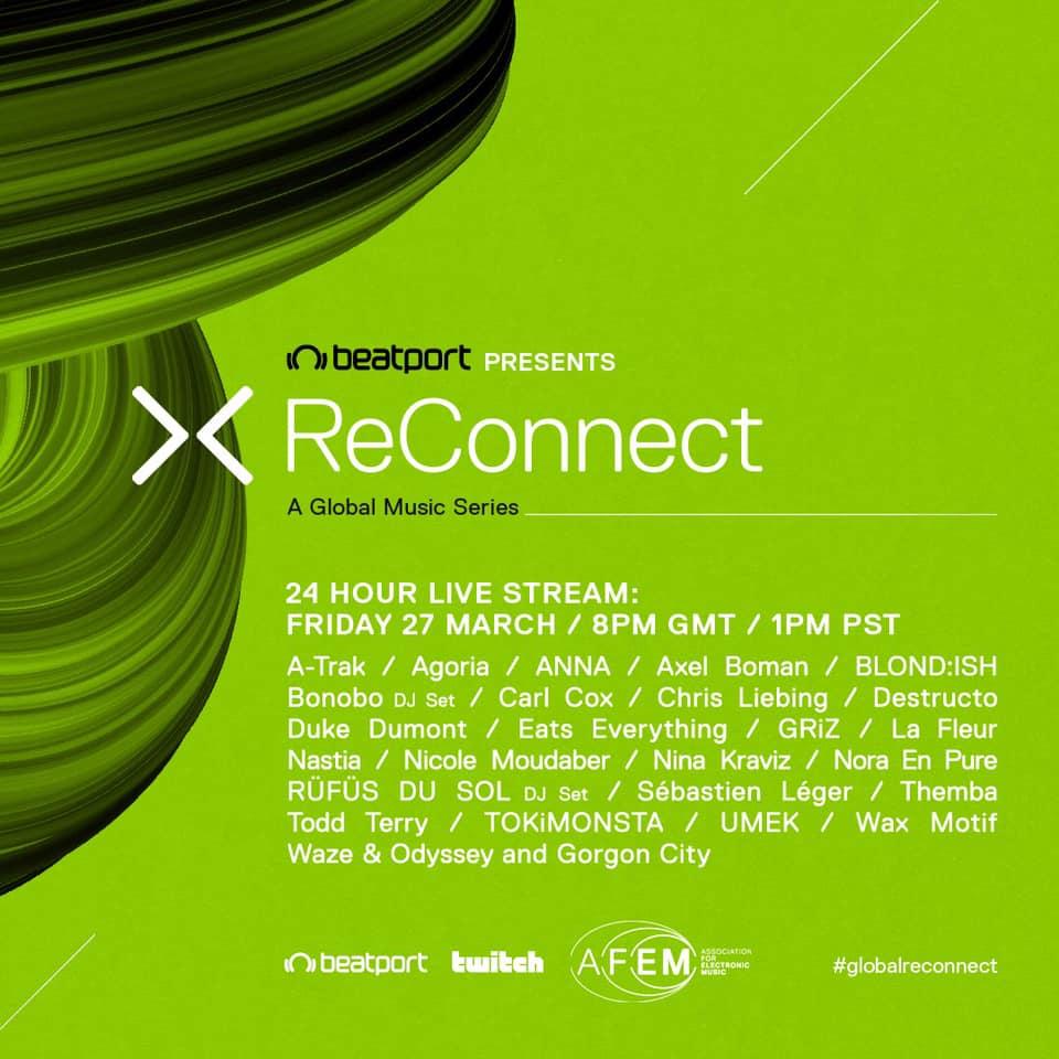 Beatport ReConnect