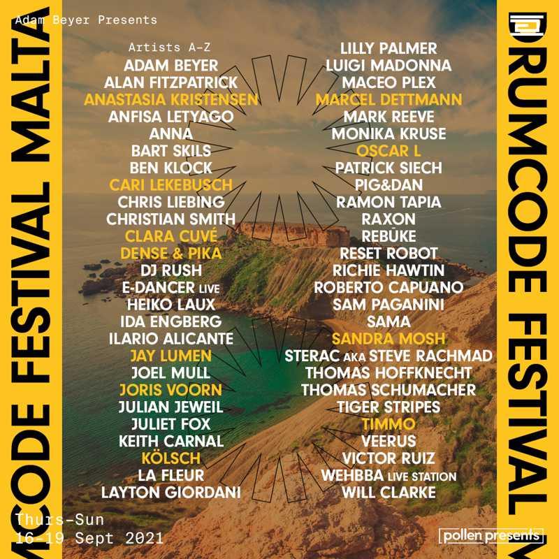 Drumcode Festival Malta