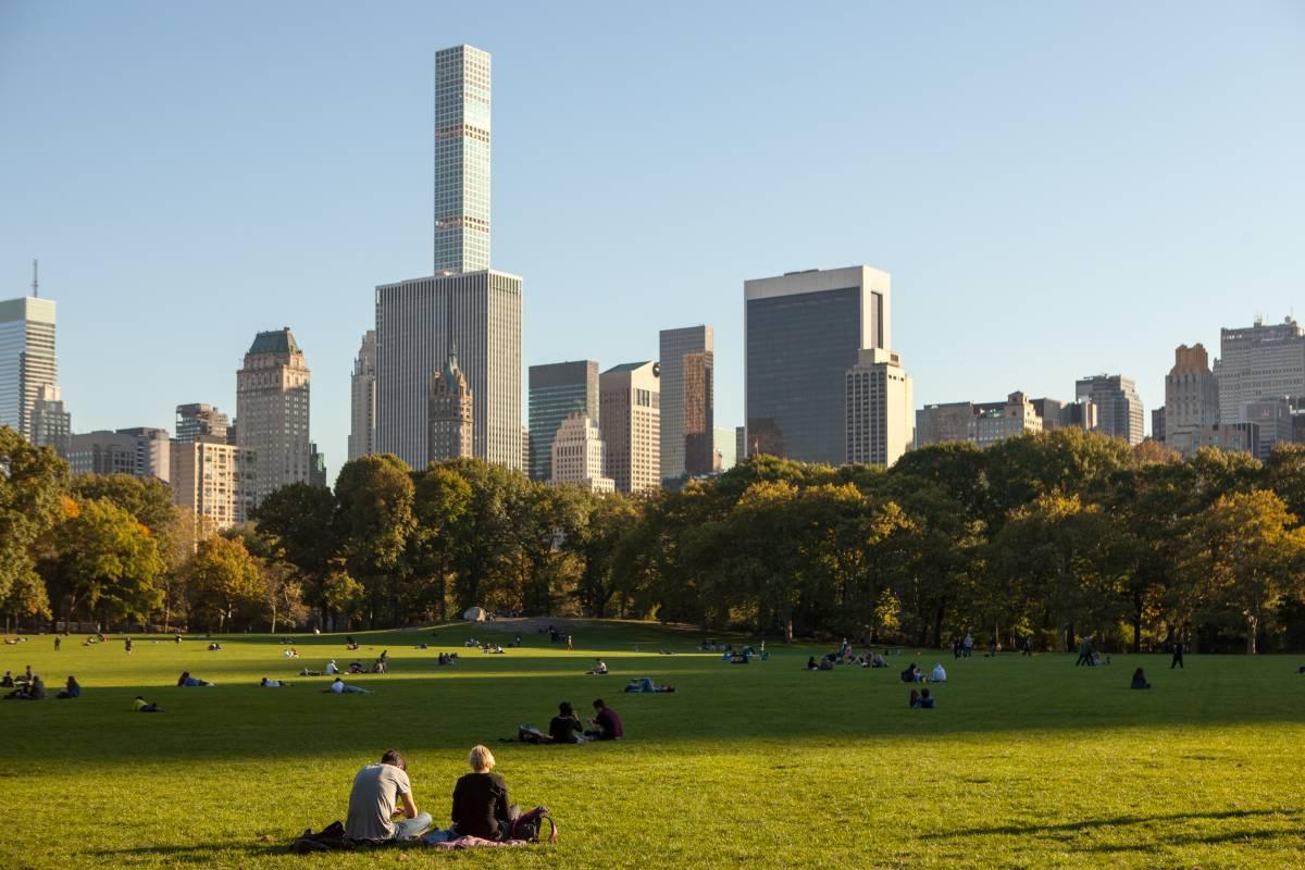 Great Lawn, local onde acontecerá o megashow do Central Park