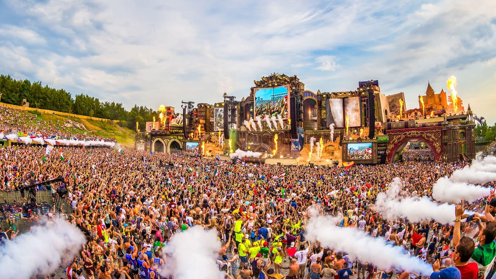 Tomorrowland Festival, palco principal, 2019
