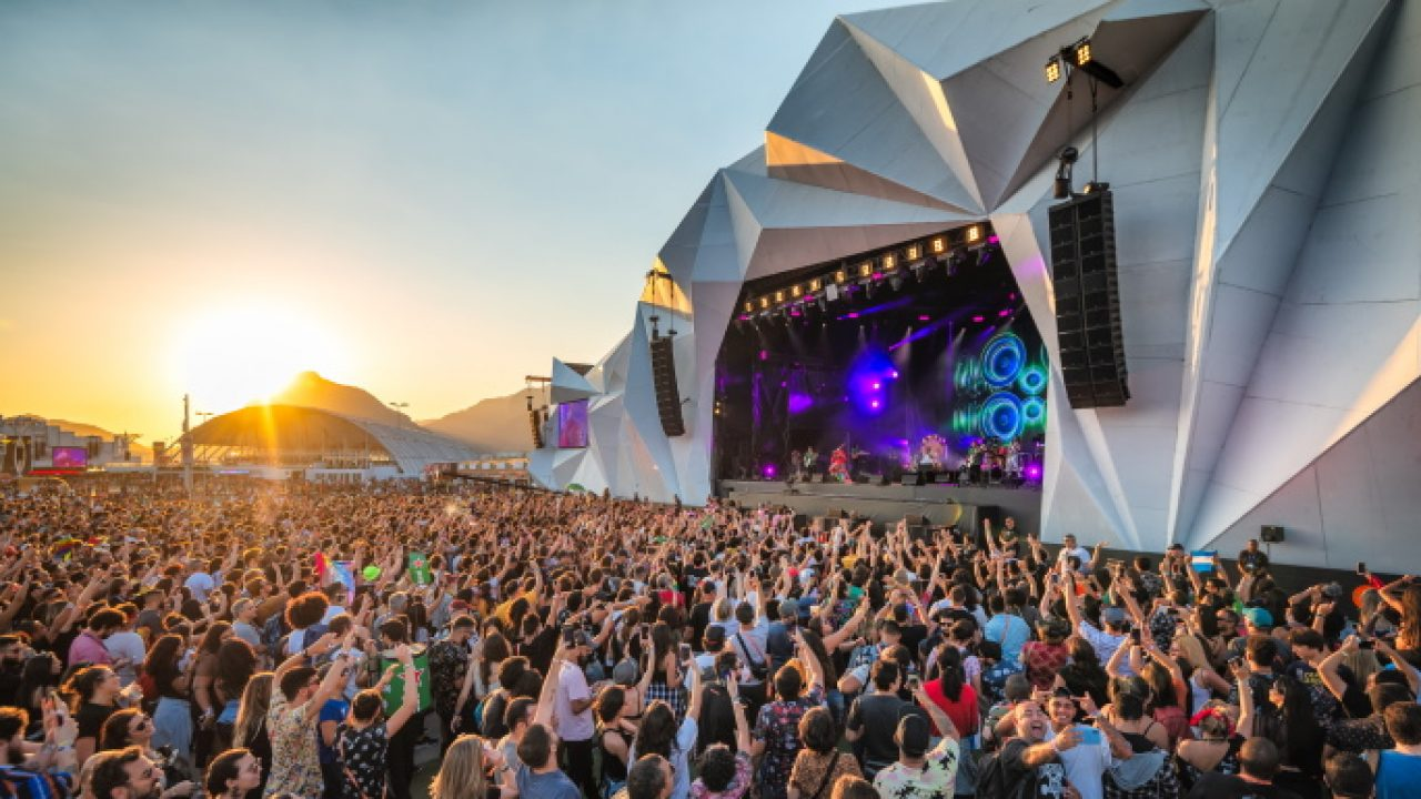 Rock in Rio Sunset